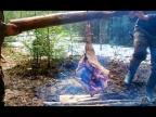 ПРИГОТОВИЛИ В ЯМЕ ОГРОМНЫЙ КУСОК МЯСА ВЕСОМ 18 КИЛОГРАММОВ - ДИКАЯ КУХНЯ