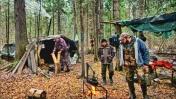 Лесная ИЗБА охотников | Егерь с нами | Еда для лосей и зайца