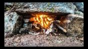 Строим КАМЕННЫЙ ДОМ в ГОРАХ - Печь, Битва с полом, Рога и Пурга