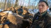 Круто! ЗАЦЕПИЛИ его в лесу металлоискателем на самом краю. Коп по войне.