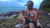 Выживание на необитаемом острове. 2-Часть/2-Сезон.Делаю острогу,ночная подводная охота в океане.
