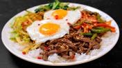 Повторил блюдо из доставка - ПИБИМПАП корейская штука