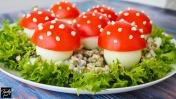 Самый Красивый Закусочный Салат Осени - Мухомор!