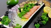 Красивая Рыбная Тарелка на Праздничный Стол! 2 Варианта Оформления!