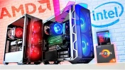 БИТВА СБОРОК AMD VS INTEL! Ну и кто ТАЩИТ!?