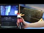 Ремонты для подписчиков: Dell Alienware m17x залитый колой | Половинка ноутбука HP G6-2211er