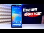 Вторая жизнь REDMI NOTE 5  на чистом Android!