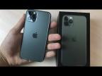 Распаковка iPhone 11 Pro Midnight Green – Купил зеленый iPhone на заработок YouTube