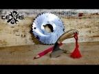 Классная идея! Нож из фрезы по металлу!!!