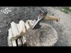 Новая жизнь старого топора! The restoration of the axe