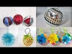 11 идей елочных игрушек. Новогодние поделки своими руками