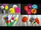 8 идей, как сделать цветы своими руками