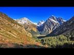 Необычайная красота с высоты птичьего полета. Шикарные горы Кыргызстана