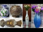12 идей, как сделать вазы своими руками