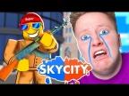Игра от Поззи ▶ Roblox Sky City - У МЕНЯ БОМБИТ 🔥