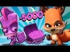 Минус 5000 гемов Зуба 2 Новых Персонажа Открываю Ящики за Алмазы в Zooba