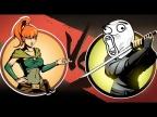 МЭЙ против САМОГО ТУПОГО ТЕЛОХРАНИТЕЛЬ В Shadow Fight 2 #ФаниГеймсТВ #3