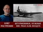 Олег Растренин о штурмовиках, необходимых ВВС РККА как воздух, как хлеб