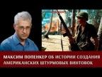 Максим Попенкер об истории создания американских штурмовых винтовок