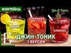ДЖИН-ТОНИК — 3 рецепта коктейля: с клубникой, клюквой и дыней
