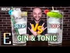 Дорого vs Дёшево — ДЖИН-ТОНИК / Gin
