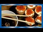 Роллы из консервированной рыбы, жаренные на сковороде, отличная идея закусок на праздничный стол,