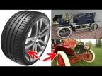 Первые шины были белые и вот почему! Интересные факты про авто!