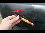Как убрать царапины с кузова авто. Тестирую карандаш от царапин с Алиэкспресс. Я в ШОКЕ!