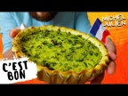 Мишель Жюльен научит вас готовить Французский открытый пирог Киш
