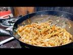 1 dollar street food in Nepal - Chow Mein