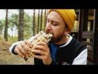 Шаверма с овощами гриль в хрустящем лаваше - Веганские рецепты