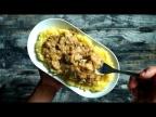 Грибной сливочный Строганов с картофельным пюре