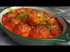 Ленивые ГОЛУБЦЫ с грибами запеченные под соусом в духовке (веган рецепт)