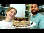 "Новогодний торт ""ЧЁРНЫЙ ЛЕС"" без яиц и молока!"