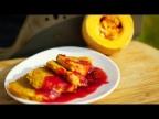 Сладкие оладьи из тыквы на завтрак