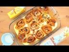 Нежнейшие булочки с апельсиновым джемом и корицей