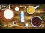 Овощные котлеты со сливками за 1 минуту