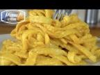 Паста из манной крупы своими руками без яиц в сливочном соусе | Pasta Handmade