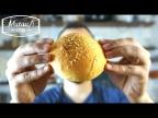 Булочки для бургеров без яиц | Мягкие, пышные и веганские