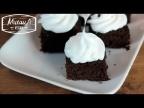 Брауни, шоколадный взрыв! Простой рецепт с кокосовым кремом.