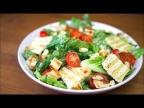 ЦЕЗАРЬ салат - самый популярный в мире (веган рецепт)
