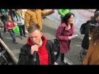 Зеленый блок, Санкт-Петербург, первомайская демонстрация.