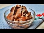 Шоколадно-сметанный десерт за пол минуты