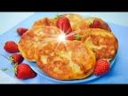 Особо мягкие жареные пирожки на кефире с ягодой
