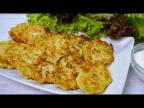 Ай да вкуснятина - кабачковые оладьи с мясом