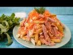 Бесподобный салат с корейской морковью и сухариками