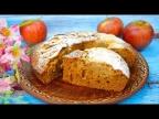 Медовая коврижка с яблоками (постный рецепт) - просто и очень вкусно!
