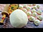 Идеальное тесто для пельменей и вареников (с яйцом на молоке)