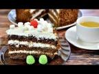 Обалденный шоколадный торт с вареньем и сметанным кремом