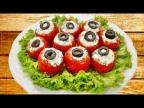 Простые и вкусные закуски из помидоров
